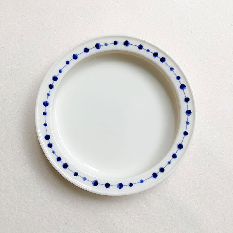 超激安 子どものための食器 ユニバーサルプレート 売却 19cmドット 森正洋デザイン