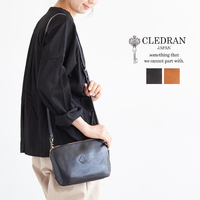 【ポイント最大34倍 16日01:59まで】[CL2763]CLEDRAN(クレドラン)WALLET SHOULDER BAG(ウォレットショルダーバック)【メール便対象外】【送料・代引き手数料無料】CS
