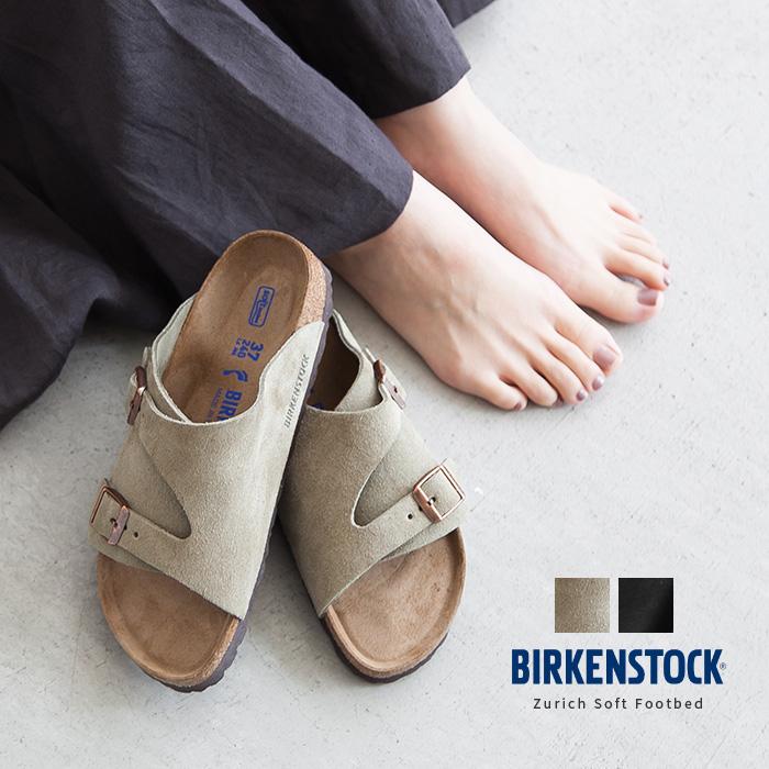 [Zurich BS Soft Footbed/1009533/1009529] BIRKENSTOCK(ビルケンシュトック)Zurich BS Soft Footbed/チューリッヒソフトフットヘッド(ストラップサンダル/幅狭/ナローフィット)【メール便対象外】【佐川急便送料無料】RM