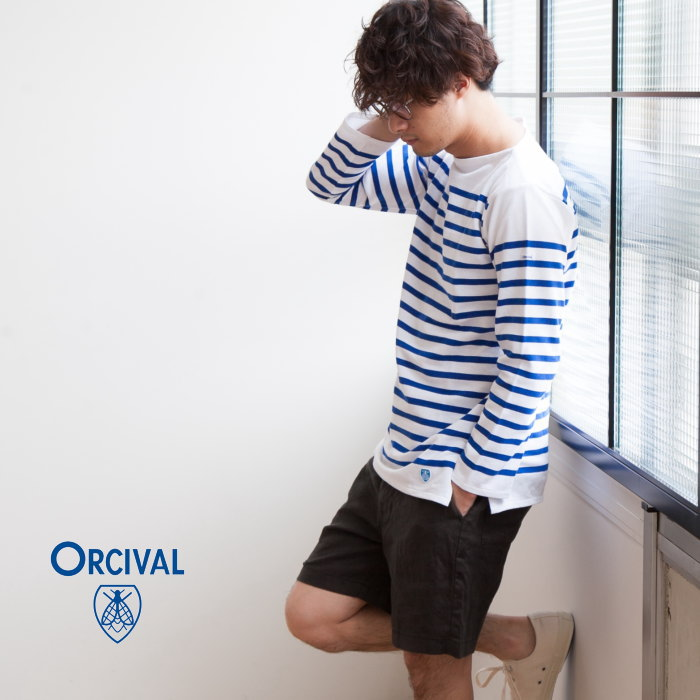 【ポイント最大34倍 16日01:59まで】(6101)ORCIVAL(オーシバル/オーチバル)ORCIVAL bee emblem(レイチェル/バスクシャツ)【メール便対象外】【佐川急便送料無料】D