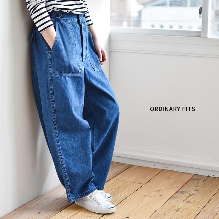 [OF-P045]Ordinary fits(オーディナリーフィッツ)JAMES DENIM PANTS(ジェームスデニムパンツ)【送料・代引き手数料無料】uGC【4日20時~11日1:59まで開催】