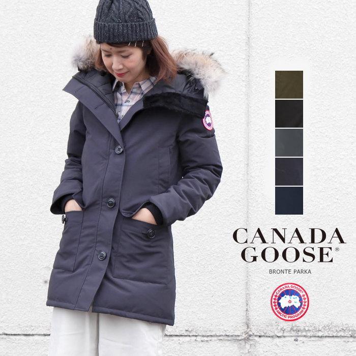 Details about Auth CANADA GOOSE Arctic Program Bronte Parka Duck Down Jacket Women's Navy L