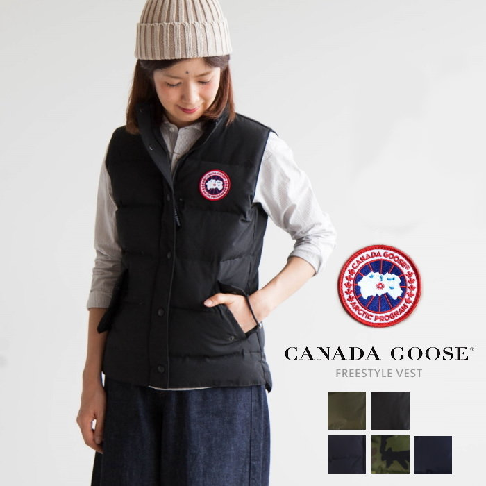(2832 L) CANADA GOOSE (Canada goose) women's down jacket FREESTYLE VEST (free style best) O