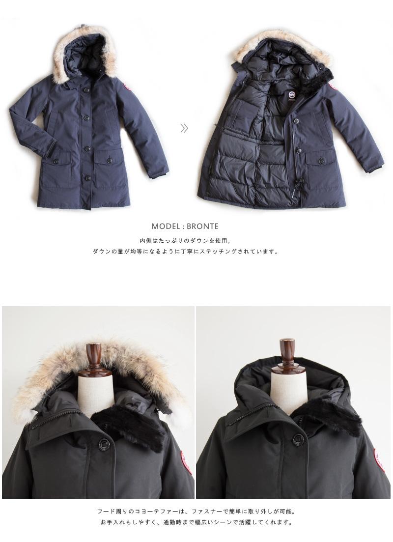2f5953c992cc  Japan Domestic Official Dealer  (2603JL) CANADA GOOSE Women s Down Coat  BRONTE PARKA
