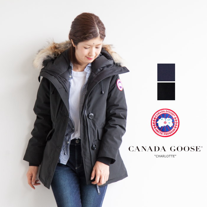 WOODY COMPANY  (2300 JL) (Canada goose) CANADA GOOSE ladies PARKA down  jacket of CHARLOTTE (Charlotte Parker) U  e2df067ddf9c