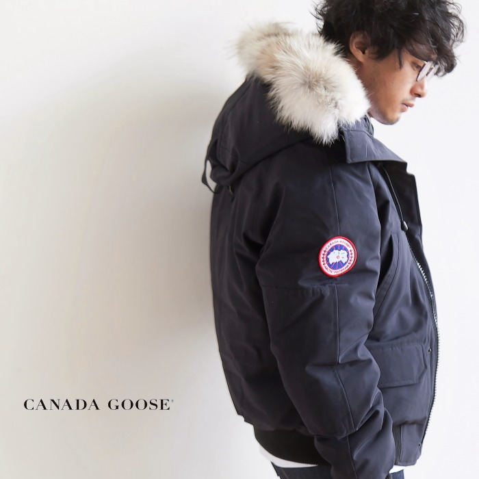 (7950MA)CANADA GOOSE (Canadian goose) CHILLIWACK BOMBER FF (チリワックボンバー / fusion fitting) K
