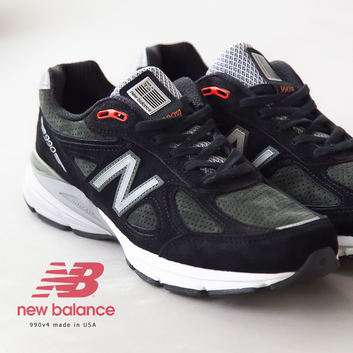 new concept 9864e 7718c [M990MB4]NEW BALANCE (New Balance) 990v4 made in USA/ sneakers RZ