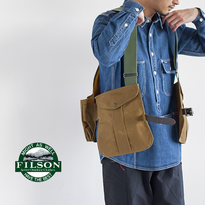 80354570505 1 3 Filson Tin Bag Hunting Vest The ティンゲームバッグ Best Dy