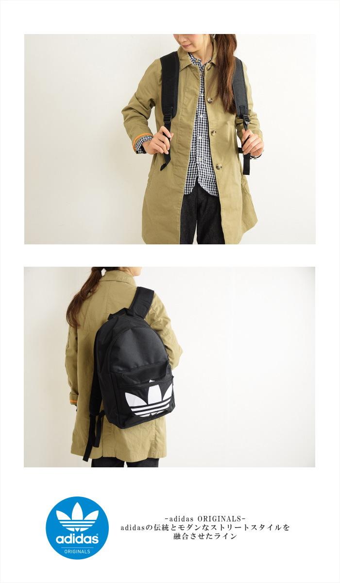 -Adidas ORIGINALS (adidas originals) HERITAGE BACKPACK CLASSIC TREFOIL ( unisex   Backpack Backpack classic trefoil) U eeefc6a6e0