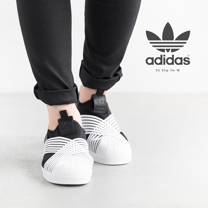pretty nice fd9f0 85256 [D96703] adidas Originals (Adidas originals) SS SLIP ON W (superstar  slip-ons W) JN