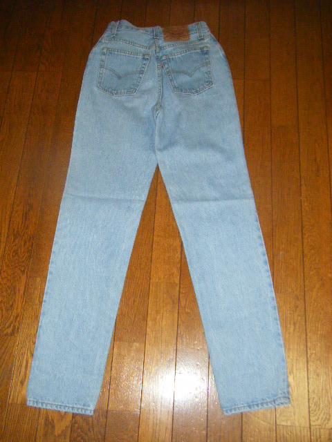 LEVI'S501 SIZE M Levis blue /USED crash straight / from U.S.A