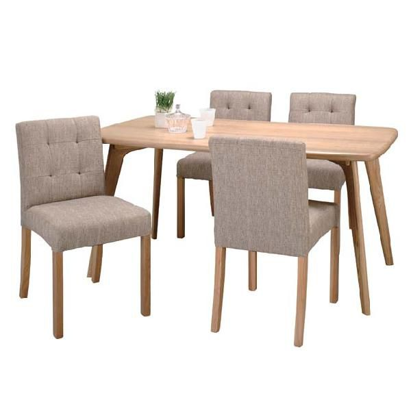 4 Person Dining Room Set, Dining Table Dining Set Dining 5 Piece Set  Four Seat Table Set Cafe Table Set Dining Room Table Set Dining Table Set  Natural ...
