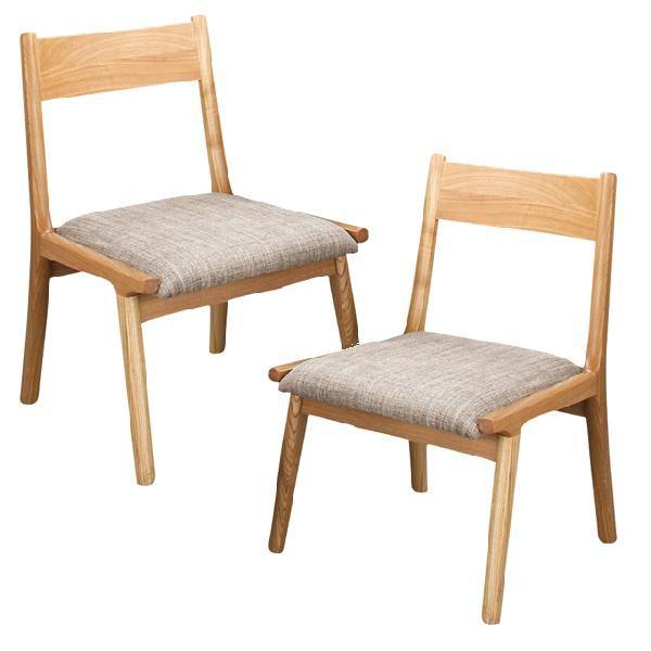 ダイニングチェアー 2脚セット ナチュラル 木製 シック 食堂椅子 食堂チェアー 食卓チェアー 食卓椅子 カウンターチェアー いす イス カフェチェアー