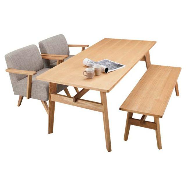 ダイニングテーブル 木製 カントリー 4人用ダイニングテーブル 四人用ダイニングテーブル 4人掛けダイニングテーブル 食堂テーブル 食卓テーブル カフェテーブル 幅160cm ナチュラル