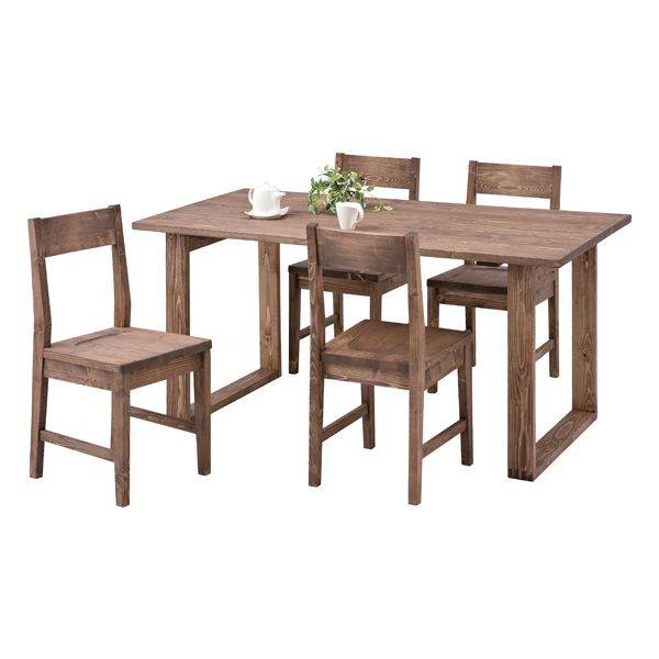 woodylife | Rakuten Global Market: Dining table dining set dining 5 ...