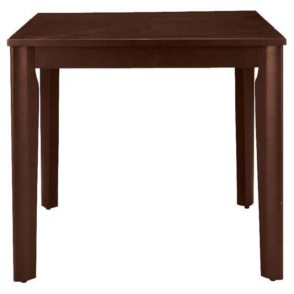 ダイニングテーブル 木製 シック 幅75cmカフェテーブル 食堂テーブル 食卓テーブル てーぶる 二人用ダイニングテーブル 2人用ダイニングテーブル 2人掛けダイニングテーブル ブラウン