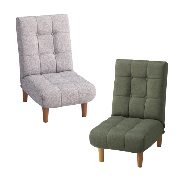 1人掛けソファー 布張り製 北欧風 グレー グリーン 緑 1人用ソファー 一人掛けソファー 一人用ソファー そふぁー シングルソファー コンパクトソファー