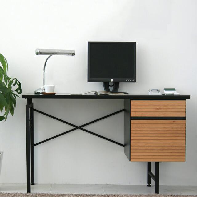 ワークデスク パソコンデスク 書斎机 幅120cm 和風モダン ワーキングデスク オフィデスク 事務机 事務デスク オフィス用デスク オフィステーブル 書斎デスク つくえ パソコン用デスク