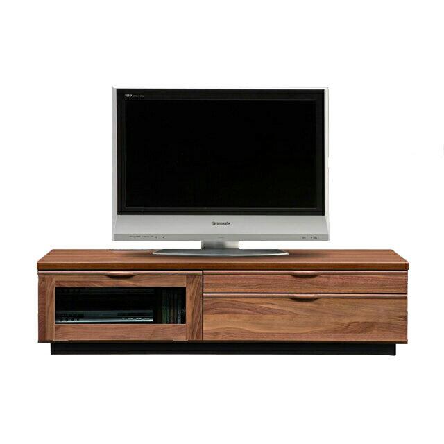 テレビ台 テレビボード ローボード 完成品 幅150cm ブラウン 木製 北欧風 ロータイプテレビボード TVボード てれび台 TV台 テレビラック リビングボード AVラック AV収納 AVボード