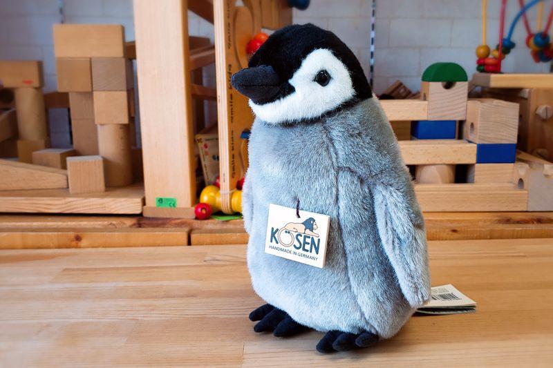 【すぐに使えるクーポン配布中】ケーセン 皇帝ペンギンの子 【ケーセン 動物 出産祝い 誕生日 赤ちゃん ベビー 1歳 2歳 3歳 ぬいぐるみ】