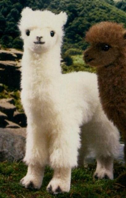 ケーセン アルパカ 白 【ケーセン 動物 出産祝い 誕生日 赤ちゃん ベビー 1歳 2歳 3歳 ぬいぐるみ】