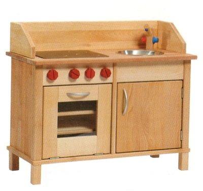 【すぐに使えるクーポン配布中】ニック木製キッチン ニキティキ N26-5 【N木製キッチン 木のおもちゃ キッチン ままごと 木製玩具 出産祝い 誕生日 女の子】