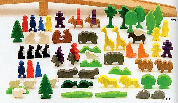 ミニチュア動物 いろんな動物たち デュシマ 送料無料お手入れ要らず ZOOへ行こう ミニチュア積木 木のおもちゃ 積み木 つみき Dusyma 新作アイテム毎日更新