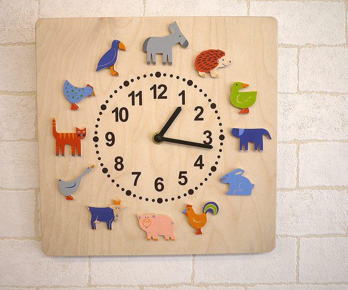 【すぐに使えるクーポン配布中】ヘラー社HELLER 壁掛け 時計 ヤーン動物 【ヘラー社 壁掛け 時計 ヤーン動物 HELLER】