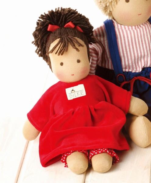 【最大1200円OFFクーポン配布中】シルケ社 ロッテちゃん・赤 お人形 SI10930 【ジルケ社 SILKE 赤ちゃん 女の子 出産祝い 誕生日】
