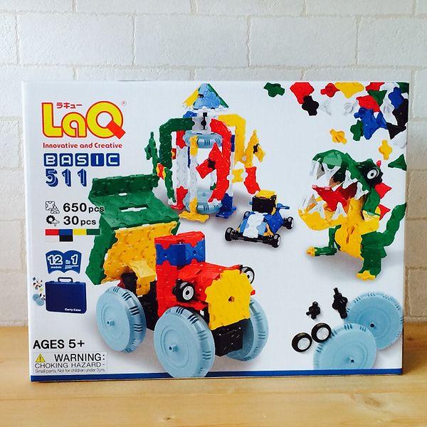 ラキュー ベーシック 511 basic 【LaQ  知育玩具 知育ブロック】