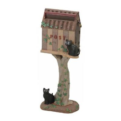 ポスト 郵便ポスト 郵便受け 安い おしゃれ 北欧 レトロ 自宅用 アンティーク モダン A4 玄関 置き型 置き型ポスト スタンド スタンドタイプ スタンド型 自立