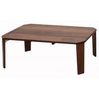 ローテーブル センターテーブル 折りたたみ テーブル おしゃれ 折れ脚 1人暮らし 北欧 木製 安い 食事 軽量 リビングテーブル ちゃぶ台 ウォールナット 大きめ 90×60 高さ35