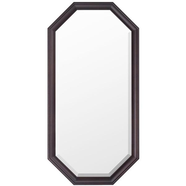 姿見 ミラー 全身鏡 メイク 化粧 壁掛け ウォールミラー 八角 大型 大きい 額縁 アンティーク 北欧 かわいい 玄関 取り付け 飛散防止