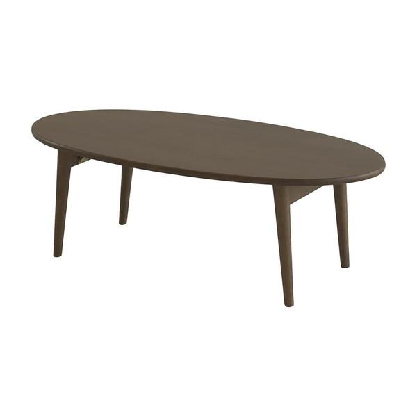 折りたたみ ローテーブル センターテーブル おしゃれ 北欧 木製 リビングテーブル コーヒーテーブル 応接テーブル デスク 机 テーブル ブラウン