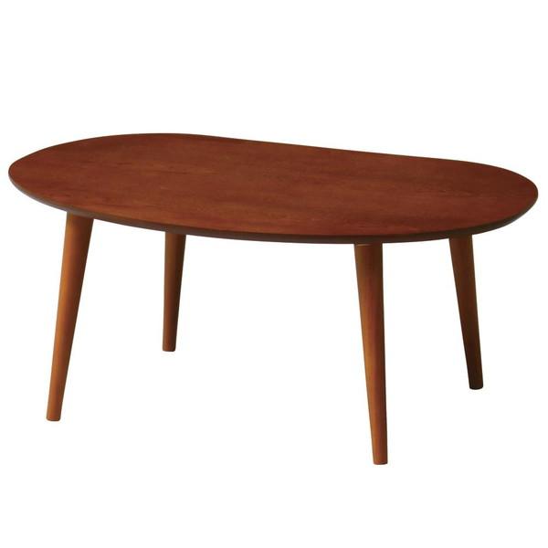 ローテーブル センターテーブル おしゃれ 北欧 木製 リビングテーブル コーヒーテーブル 応接テーブル デスク 机 ブラウン