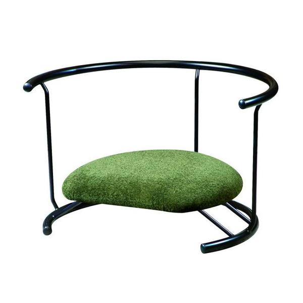 あぐら座椅子 あぐら クッション あぐらチェア あぐら椅子 姿勢矯正 低い 椅子 腰痛 骨盤矯正 座椅子 座イス 座いす 一人暮らし コンパクト ロー こたつ おしゃれ 1人掛け 一人掛け フロアチェア 日本製 スツール 背もたれ グリーン