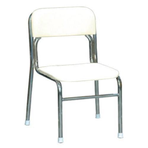 パイプ椅子 スタッキングチェア オフィスチェア 会議用チェア 会議椅子 チェア イス いす スツール 事務椅子 椅子 パソコンチェア デスクチェア pc ホワイト/シルバー