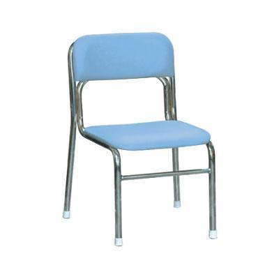 パイプ椅子 スタッキングチェア オフィスチェア 会議用チェア 会議椅子 チェア スツール 事務椅子 パソコンチェア ブルー 休み イス pc いす シルバー 時間指定不可 デスクチェア 椅子