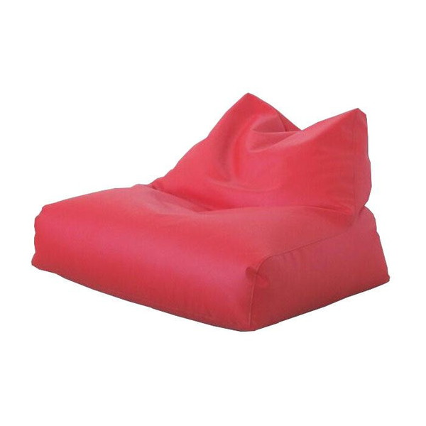 ビーズクッション 座椅子 クッション ローソファー 座布団 大きい 安い 中身 特大 おしゃれ 大型 ビーズチェア W レザー レッド