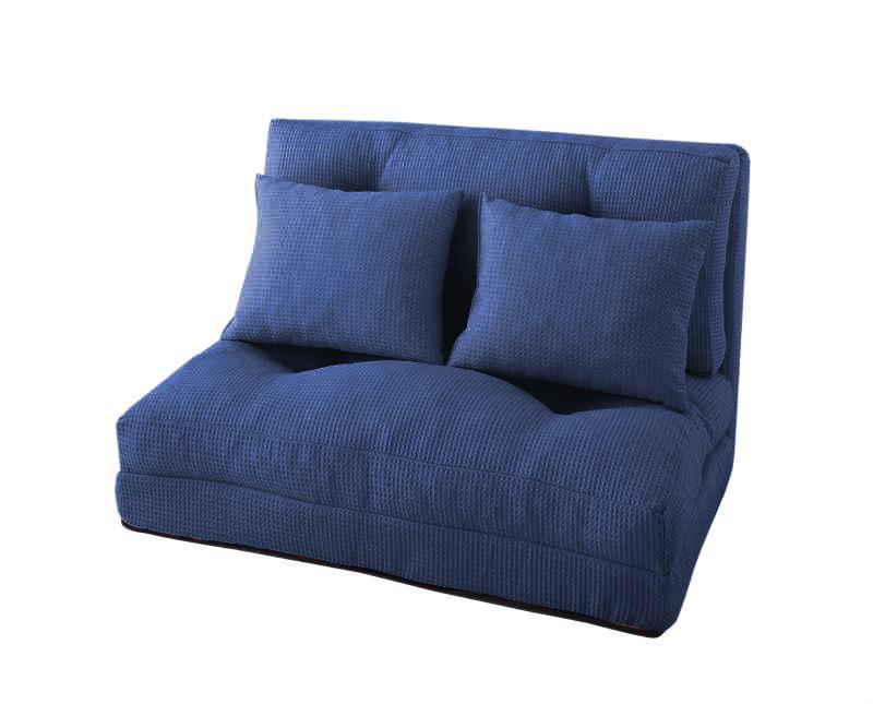 ソファー ソファ 1人掛け 一人掛け 1人用 一人用 一人暮らし おしゃれ 布 ファブリック 北欧 リビング ソファーベッド ソファベッド 1人用 一人用 一人暮らし 座椅子 ローソファ リクライニング  ( 幅90 Lグリーン 緑 )