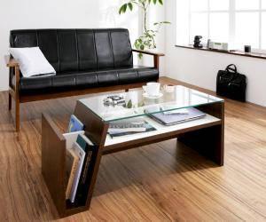 センターテーブル ローテーブル おしゃれ 北欧 木製 リビングテーブル コーヒーテーブル 応接テーブル デスク 机 ( ローテーブル幅90 )