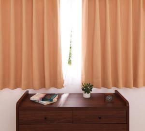カーテン 安い おしゃれ 北欧 リビング モダン 子供部屋 こども部屋 既製品 ( 幅150 (2枚) 150×90cm )