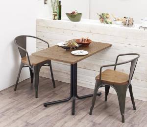 ダイニングセット ダイニングテーブルセット 2人 二人 2人用 二人用 椅子 ダイニングテーブル 一人暮らし おしゃれ 安い 北欧 食卓 ( 3点(テーブル+チェア2脚)アームチェア幅100 )