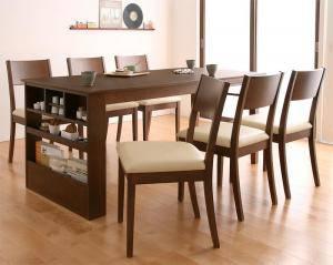ダイニングセット ダイニングテーブルセット 6人 六人 6人用 六人用 椅子 ダイニングテーブル おしゃれ 伸縮 伸縮式 伸長式 安い 北欧 食卓 ( 7点(テーブル+チェア6脚)幅135-170 )