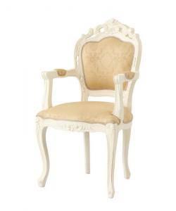 ダイニングチェア 椅子 おしゃれ 北欧 安い アンティーク 木製 シンプル ( 食卓椅子 1脚 肘付き ) 座面高49 座面 高め ファブリック 背もたれ シートクッション ハイバック クラシック エレガント 高級感 ヨーロッパ シャビー かわいい
