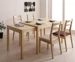 ダイニングテーブルセット 4人用 椅子 おしゃれ 伸縮式 伸長式 北欧 5点 AL完売しました。 机+チェア4脚 デザイナーズ スタイリッシュ 大きい 幅120 幅120-200 安い 150 130 パーティ ミッドセンチュリー 食卓 160 180 クール 200 お得セット ビュッフェ 大きめ