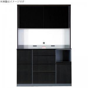 食器棚 おしゃれ 北欧 安い キッチン 収納 棚 ラック 木製 大容量 カップボード ダイニングボード ( 開梱無 キッチンボード 幅140 )
