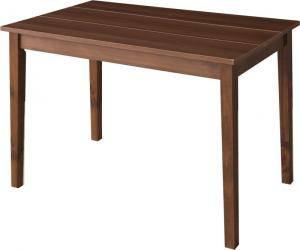 ダイニングテーブル おしゃれ 安い 北欧 食卓 テーブル 単品 モダン 会議 事務所 ( 机 ブラウン 幅115×70 ) 2人用 4人用 コンパクト 小さめ ワンルーム パイン 木製 デザイナーズ クール スタイリッシュ ミッドセンチュリー