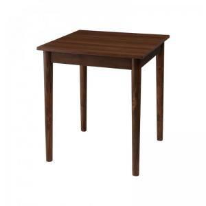 ダイニングテーブル おしゃれ 安い 北欧 食卓 テーブル 単品 モダン 机 会議用テーブル ( 食卓テーブルブラウン 幅68 )