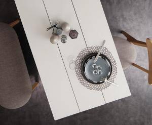 ダイニングテーブル おしゃれ 安い 北欧 食卓 テーブル 単品 モダン 机 会議用テーブル ( 食卓テーブルホワイト×ナチュラル 幅115 )